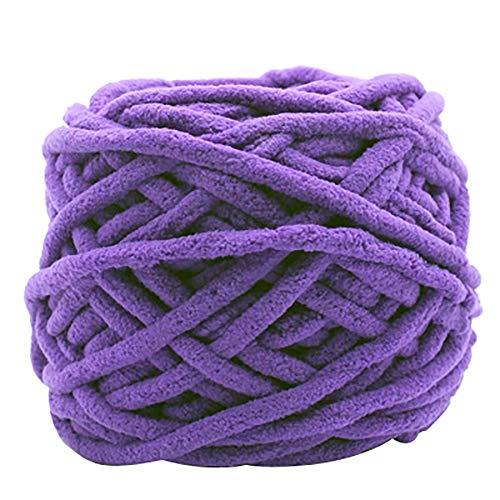 Lai-LYQ breigaren, zachte, dikke katoen, doe-het-zelf handwerk voor truien, sjaals lichtblauw