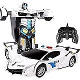 SONGTAO Enfants Blanc Déformation Voiture Jouet Surdimensionné De Charge Dynamique Déformation Robot Variante King Kong Enfants Jouet Police