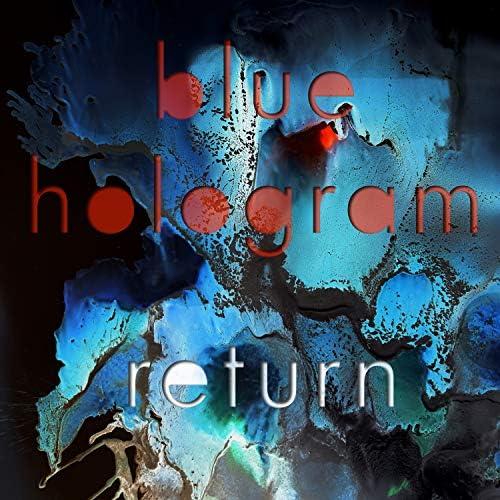 Blue Hologram
