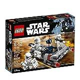 LEGO Guerra de Las Galaxias de Primer Orden Reductor de Velocidad de Transporte de Carga Batalla Kit 75166 Edificio