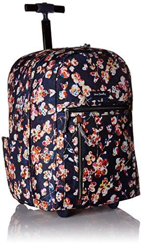 Vera Bradley Women's Lighten Up Large Rolling Backpack, Cut Vines