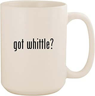 got whittle? - White 15oz Ceramic Coffee Mug Cup