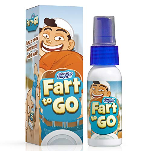Fart to Go Extra Strong Liquid Fart Spray Funny Gag Gift – Prank Your Friends, Make Them Run and Make Them Laugh, Clear a Room in Seconds - Super Potent Stink Bomb Practical Joke (Best Way To Stop Farting)