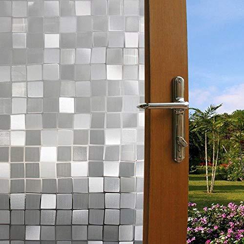 100x45cm 3D Waterdicht Mat Privacy Vensterglas Cover Film Sticker Hoge Kwaliteit Glazen Deur Sticker Badkamer Voor Thuis TSLM1,2, China