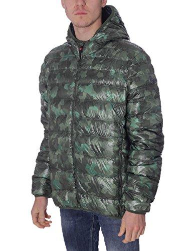 Piumino Brekka Uomo Holiday Piuma D'oca BRF16WM01 Camouflage, M MainApps