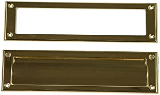 Gibraltar Mailboxes MS00BR03 Mail Slot, Brass