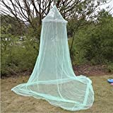 FEWIHIWEAS Cúpula de Encaje Mosquitera Cama con Dosel Red Doble King Size Fly Insect Protection-Verde, 60x230x820cm