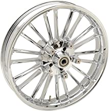 Coastal Moto 3D-ATL213CH07 Precision Cast Atlantic 3D Front Wheel - 21in. x 3.5in. - Chrome