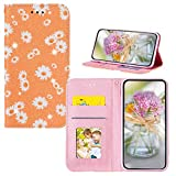 JZ [Glitter Powder & Daisy PU Leather Wallet Flip Cover For para Samsung Galaxy S10 Plus / S10+...