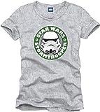 La Guerra de Las Galaxias Stormtrooper Emblem Camiseta Gris/Melé S