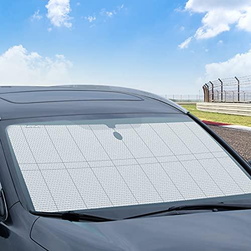 surfsexy Parasol universal para parabrisas de coche, portátil, plegable, resistente al sol, protección UV, accesorios para el verano