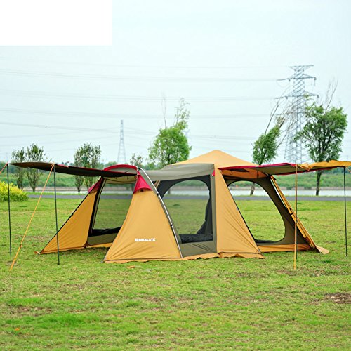 hhsgcggy all'aperto3-4 Automatico Doppia Tenda/Viaggio con la Famiglia riunione Persone Campeggio Tenda di Campeggio-A