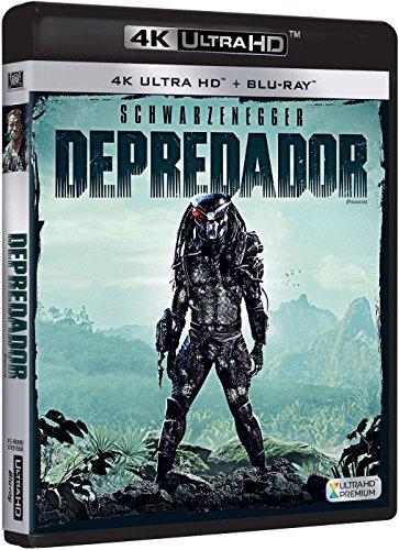 Depredador 4k Uhd [Blu-ray]