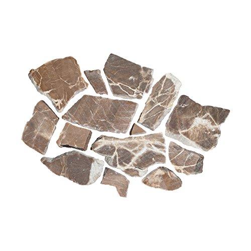 Emperador Marmorbruch Bruch Marmor Mosaik 10 mm lose Ware