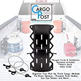Gas Can Holder for Truck Bed, Tie Down Anchors, Propane Tank Holder - Cargo Post Kit That Holds Down Your Truck Cargo Securely and Installs in Minutes