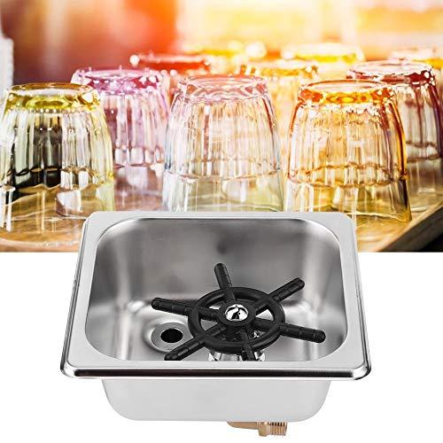 Automatische Unterlegscheibe, 6,9 x 6,4 x 2,6 in Hochdruckhahn Automatik mit Anschluss Bar Unterlegscheibe, Home Coffee Shop Bar für Bar Hotel Restaurant Cafe