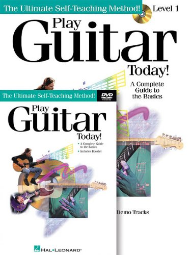 Play Guitar Today! Beginner's Pack: Book/CD/DVD Pack (Ultimate Self-Teaching Method!)