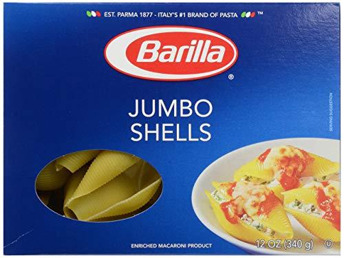 Barilla Pasta, Jumbo Shells, 12 oz