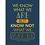 Wee Blue Coo Quote Typograph Phrase Prose Shakespeare