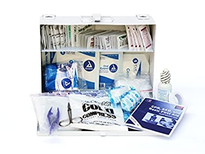 Medique 818M25P 25-Person Metal First Aid Kit by Medique Products