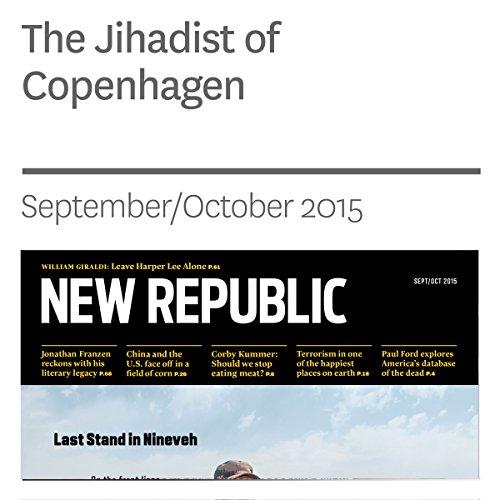 The Jihadist of Copenhagen audiobook cover art