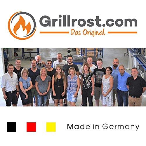 51WgcKR4V5L - Grillrost.com Das Original Grillplatte/Plancha | Edelstahl | Massiv 49 x 32,5cm - Passend für Weber Genesis bis Baujahr 2016