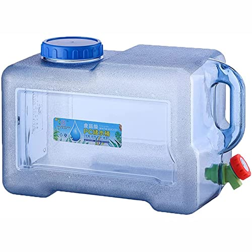 2021 Nuevo Jerrican de Comida para Acampar con Recipiente de Agua del Grifo Portátil con Asa para Beber Agua Potable al Aire Libre