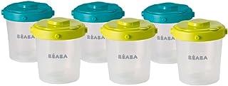 comprar comparacion Béaba 912482 - Set de 6 potes de conservación comida para bebés
