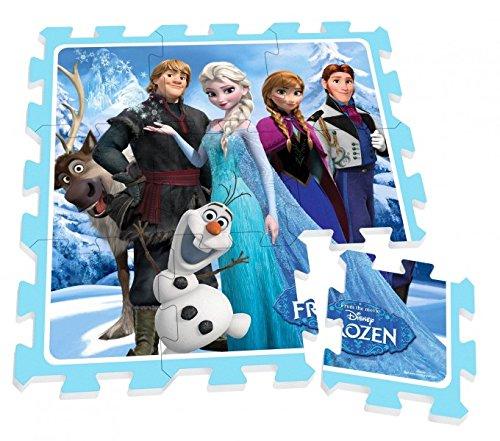 Unbekannt Disney Puzzlematte Spiel Fuß Boden Matte Kinderteppich Spielteppich Frozen Eisköngin