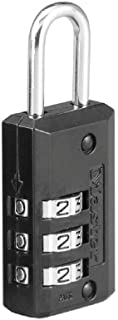 Master Lock Padlock, Set Your Own Combination Luggage Lock, 13/16 in. Wide, 646D