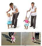 Hivel Handheld Asistente de Caminar Bebe Baby Walker Toddler Walking Assistant Nino del Bebe Aprenda a Caminar Cinturon Andador Asistente Arnes de Seguridad - Rose