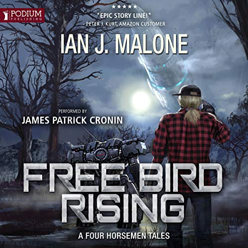 Free Bird Rising audiobook cover art