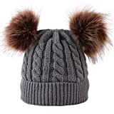 Merrynew Sombrero de pompón de Invierno para bebé recién Nacido, Gorro de...