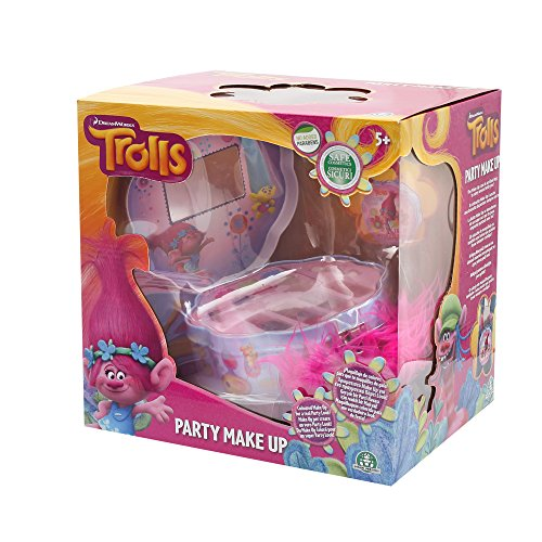 Inconnu Trolls - Trl08 - Coffret Maquillage - Party Make Up