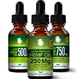 Hemp Oil - Fast Results - Relieve Chronic Pain - Ultra Premium Hemp Extract - Pure Hemp Seed Oil -...