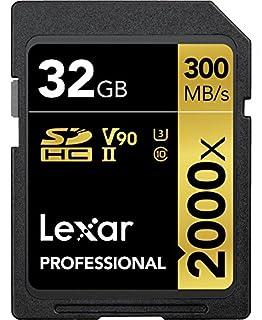 Lexar Professional - Tarjeta de memoria 2000x SDXC de 128 GB (B012PL6C62) | Amazon price tracker / tracking, Amazon price history charts, Amazon price watches, Amazon price drop alerts