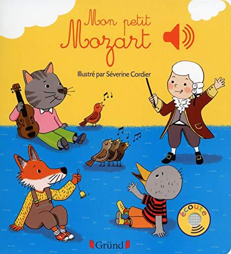 Mon petit Mozart – Livre sonore avec 6 puces – Dès 1 an