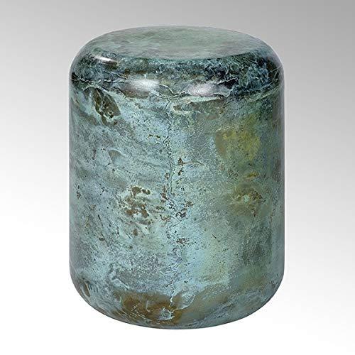 Lambert Jade Hocker/Beistelltisch Malachitgrün Rund H46Cm