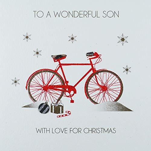 to a wonderful Son con amore per Natale–Cartolina natalizia–ACV26