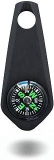 コンパスチタン キーチェーン キーホルダー ペンダント ミニ軽量高精度方位磁針 携帯型 緊急サバイバル アウトドア ハイキング 登山