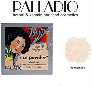 3 Pack Palladio Beauty Rice Powder RPO2 Translucent