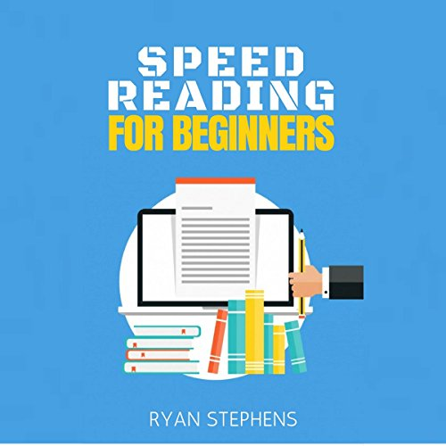 Speed Reading for Beginners audiobook cover art