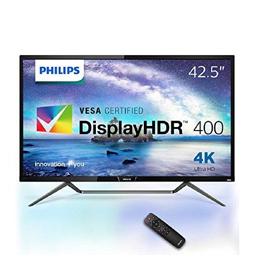 {PHILIPS モニター ディスプレイ 436M6VBPAB/11 (42.5インチ/「Display HDR 1000」認証/HDMI/USB Type-C/4K/5年保証)}
