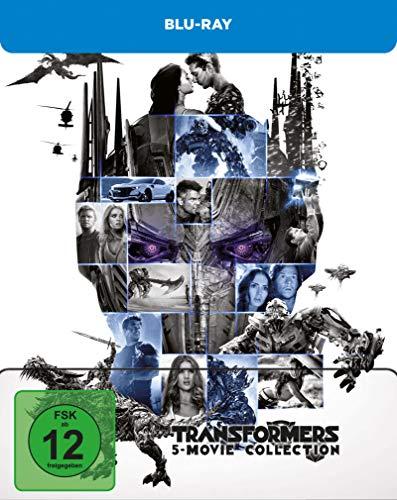 Produktbild von Transformers 5 Movie Collection - Blu-ray Limited Steelbook