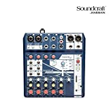 Notepad-8FX Small-format Analog Mixing Console with USB I/O and Lexicon Effects