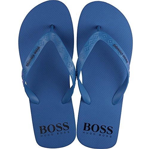 BOSS Herren Loy 10189806 01 Zehentrenner, Blau (Bright Blue 430), 41/42