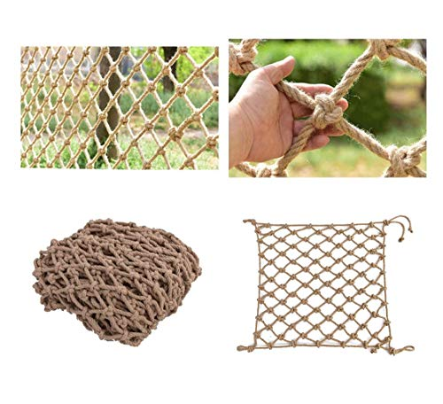 Child Safety Net Protection Climbing Frames Children's Playground climbing net, net upholstery, child safety nets balcony stairs, bridge fence, cargo trailer net, hanging net ( Size : 3*6M(10*20ft) )