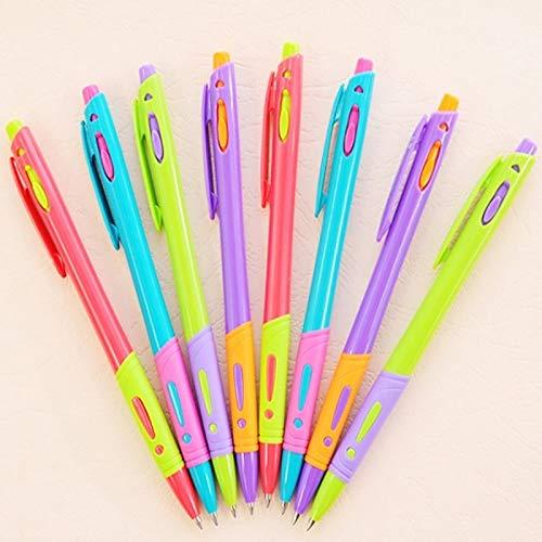 48 piezas colorido bolígrafo, color de caramelo creativo, bolígrafo de prensa colorido, colegio de papelería estudiante de oficina, edición limitada bolígrafo, oficina de bolígrafo, oficina de pluma d