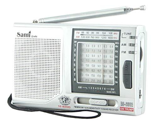 Sami - Radio portatil RS 2902 10 Bandas