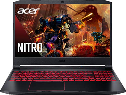 Newest Acer Nitro 5 15.6' FHD IPS Gaming Laptop | Intel Quad-Core i5-10300H | 12GB RAM | 1TB SSD Boot + 2TB HDD | NVIDIA GeForce GTX 1650 | Backlit Keyboard | Windows 10 + Gaming Mouse Bundle